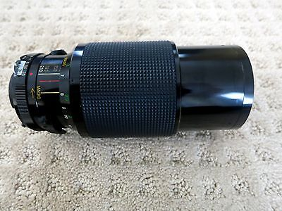 Vivitar Series 1 70-210mm 1:3.5 Macro Auto Zoom + Hoya UV Filter Nikon Excellent