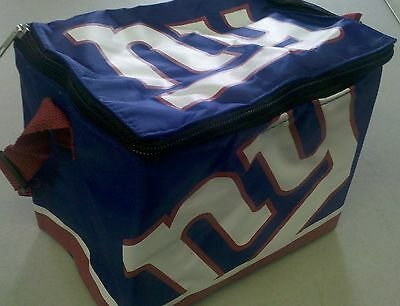 NY New York Giants Insulated soft side Lunch Bag Cooler New NFL - BIg Logo