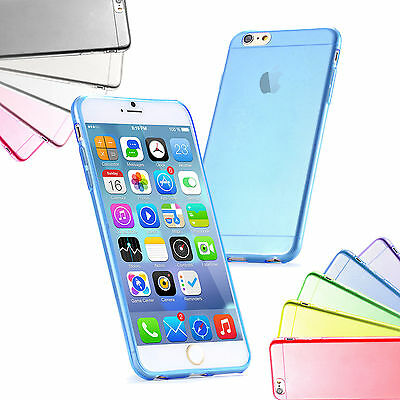 """For iPhone 6 4.7"""" Soft TPU Silicon Skin Case Phone Protector Case Cover Blue"""