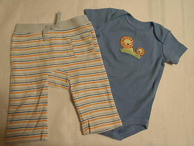 GYMBOREE Boys 3-6 Month Brand New Baby Lion Outfit NWT Pant Bodysuit