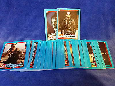 TERMINATOR 2: JUDGMENT DAY (Topps/1991) Complete ALL-STICKER Trading Card Set 44