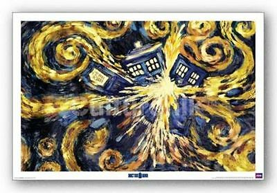 SCIENCE FICTION POSTER Doctor Who Exploding TARDIS 22x34