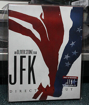 BLUFANS JFK STEELBOOK 197/300 OOP SOLD OUT HARD TO FIND