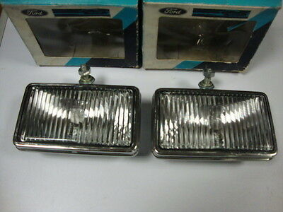 2 universal fog lights new FORD - phares anti brouillard universel - nebellampen