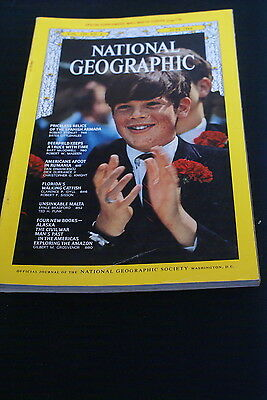 National Geographic June 1969 priceless relics of the Spanish Amada