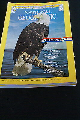 National Geographic  July 1976 an American Indians view  / Kansas City