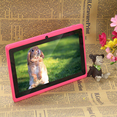"""Quad Core 16GB 7"""" Tablet MID A33 Google Android 4.4 Capacitive WiFi Dual Camera"""