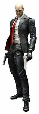 *NEW* Hitman Absolution: Agent 47 Play Arts Kai Action Figure by Square Enix