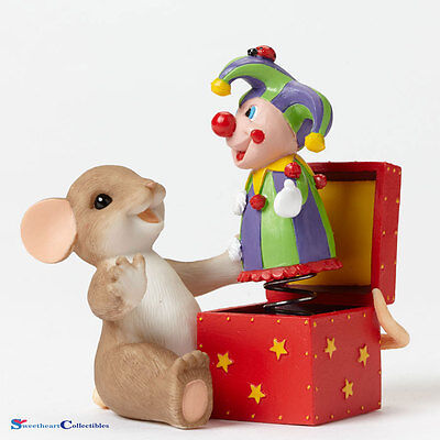 Charming Tails 4045299 You Always Surprise Me Jack In Box New 2015