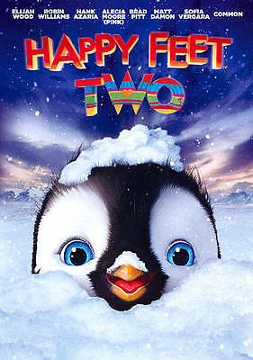 Happy Feet Two (DVD, 2012) free shipping