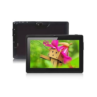 """Quad Core 7"""" Tablet PC MID 8GB A33 Google Android 4.4 KitKat WiFi Dual Camera"""