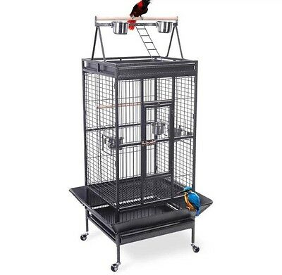 New(other) Bird Parrot Cage Large Play Top Read Description!