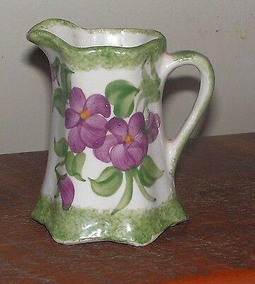 "Hand Painted 1945 Erwin, Tennessee 4"" Pitcher By The Cash Family"