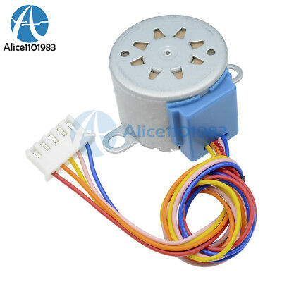 4 Phase DC12V Step Motor Reduction 28BYJ-48 Valve Gear Stepper Motor For Arduino