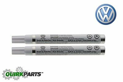 Genuine VW Volkswagen Touch-Up Paint Pen LSTD7X Platinum Grey Metallic OEM NEW