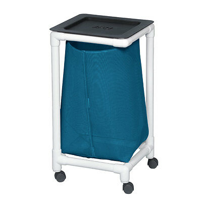 Single Linen Hamper Mesh Teal                                  1 EA