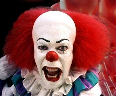 STEPHEN KING'S IT TIM CURRY as Pennywise the Clown 8x10 PHOTO #722