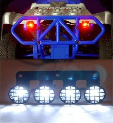 RPM Front Light Bumper Light Bar and Brake Canister 80983 80982 81030 LEDs incl