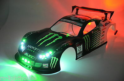 RC LED Light Set for On-Road Drifter or Rally Car (Body Not Included) #38