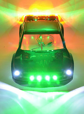 Traxxas Slash 4x4 2WD RC LED Light set- LED Lights Only- Body Not Included  #57
