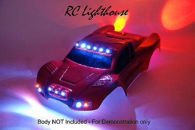 LED Lights for JConcepts Illuzions Dare Traxxas Slash 4x4 (Body Not Included) #5