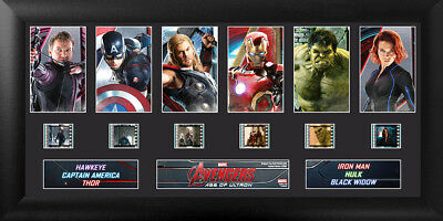Marvel's Avengers Age of Ultron Deluxe Mounted Film Cell