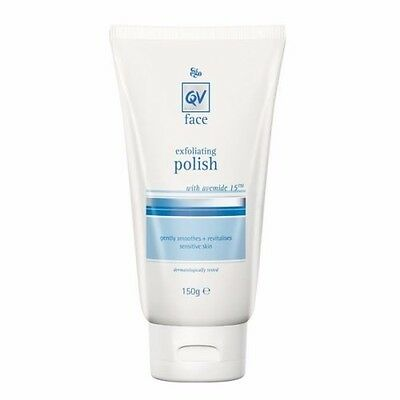 Best Price! 3 X Qv Face Exfoliating Polish 150G By Ego Total 450G Discount