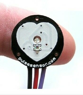 Pulse Sensor Heart Rate Sensor PulseSensor Analog Signal Output Raspberry pi