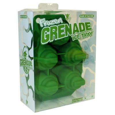 Frozen Grenade Ice Cube Tray - ice cubes icecube army military drinks alcohol no