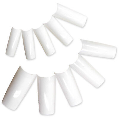 Fraulein3°8 ONGLES 500 FAUX TIP BLANC CAPSULE FRENCH MANUCURE GEL UV