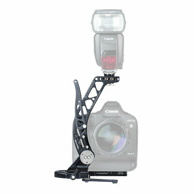 BBGv2 ProMediaGear Boomerang Flash Bracket For Weddings for Canon Nikon Sony etc