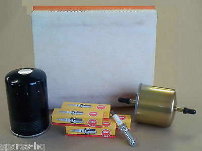 Service Kit Ford KA 1.3 Duratec 02- 09 Oil Air Fuel Filter NGK Plugs