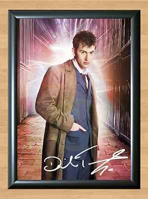 David Tennant Doctor Who Extra Signed Autographed A4 Print Poster TV Show Photo