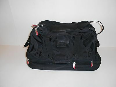 Black Unbranded Rolling Carry On Travel Bag in Excellent Condition