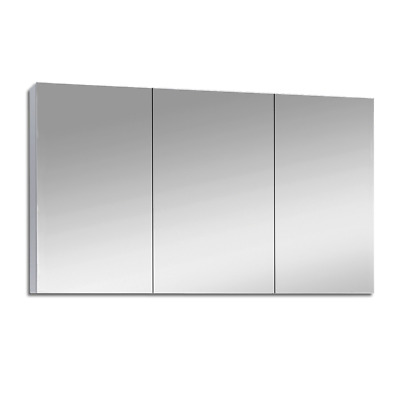 1200Mm X 720Mm Bathroom Vanity Mirror Cabinet Shaving White Pencil Edge Pemc1200
