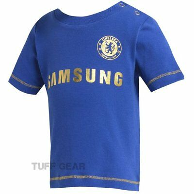 Chelsea CFC Kit T-shirt Baby Football Babies Home Kit Colour Official licensed