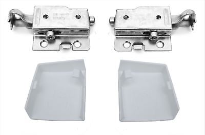 Universal Wall Hanging Bracket With Cover For Kitchen Cabinet Cupboard Kit Of 01