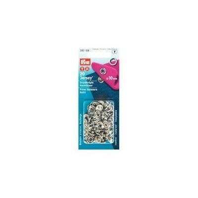 Prym Press Fasteners 10mm Jersey Ring Refill 20 Pieces