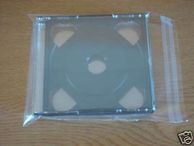 50  Cd Multi  Pack Reseal Sleeves (Wraps)  Polyprop