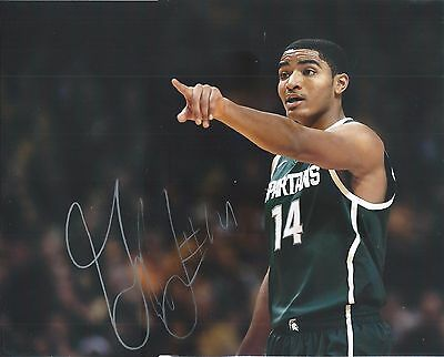 Gary Harris Michigan State Spartans Denver Nuggets Autograph Signed Photo