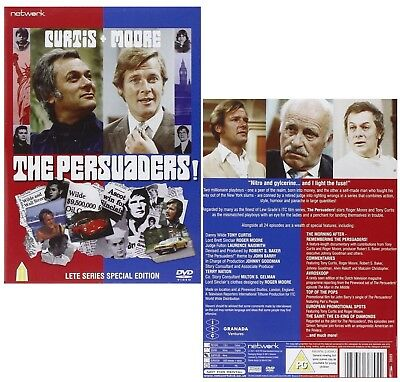 THE PERSUADERS! (1971-1972): COMPLETE British Classic TV Series - R2 DVD not US