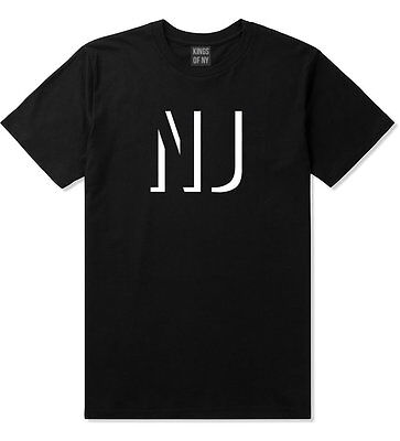 Kings Of NY New Jersey NJ City State Black T-Shirt