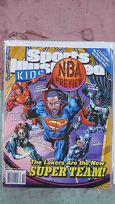 November 2012 Kobe Bryant L.A. Lakers Sports Illustrated For Kids NO LABEL