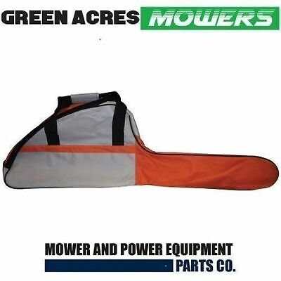 "CHAINSAW CARRY CASE AND BAR COVER BAG HOLDS UPTO 18"" STIHL ECHO  McCULLOCH"