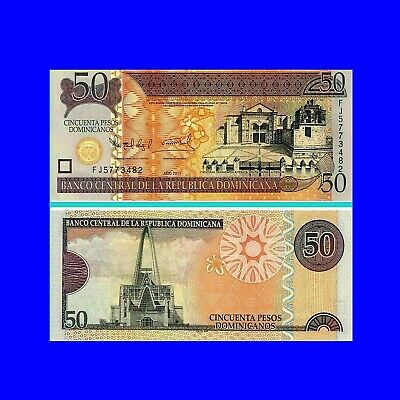 Dominikanische Republik 50 Pesos 2011 Unc.Pick:183b #