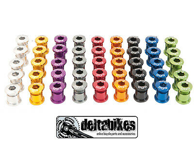 A2Z Mountain MTB Chain Ring Bolts Colourful Pack Of 15