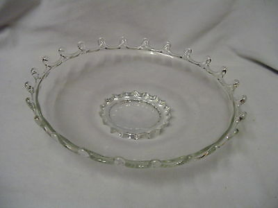 """Lariat By Heisey Bowl 9.5"""" Across 2"""" Tall Vintage"""