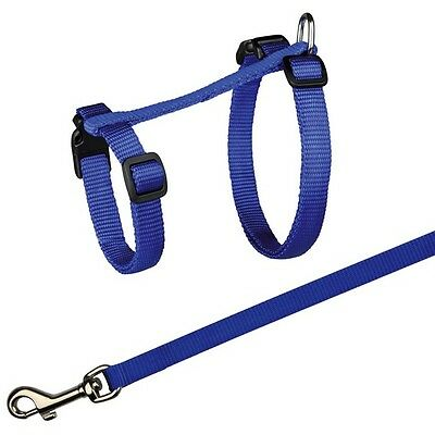 XL Cat Ajustable Comfortable Big Harness with Lead Nylon Leash TRIXIE