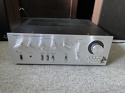 Hitachi Ha 5300 Integrated Amplifier As Is