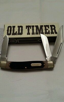 Schrade Old Timer Senior 3-Blade Pocket Knife 8OT *NEW*